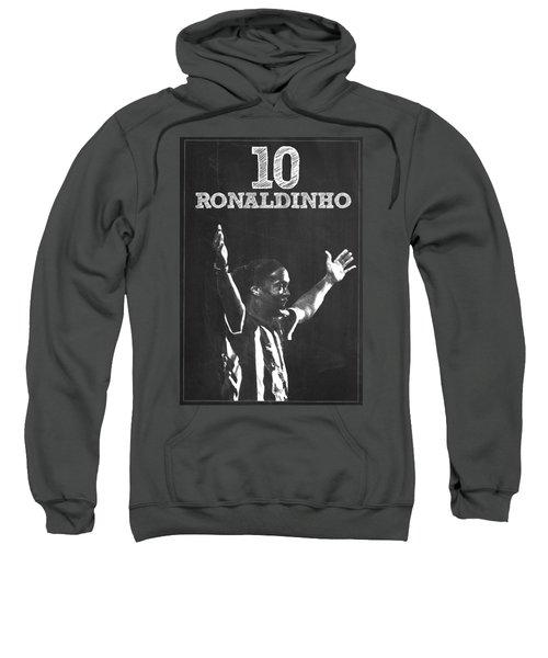 Ronaldinho Sweatshirt by Semih Yurdabak