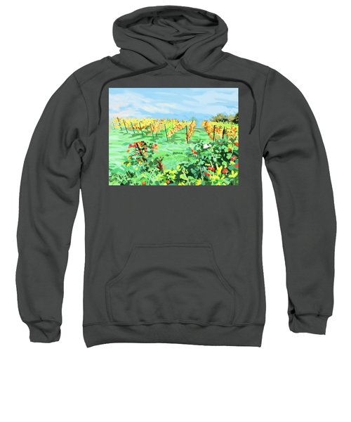Roosthole Vineyard Sweatshirt by Plum Ovelgonne