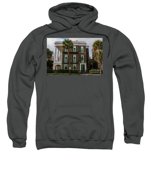 Roper Mansion In December Sweatshirt