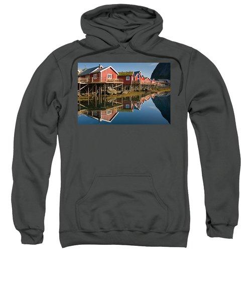Rorbus With Reflections Sweatshirt