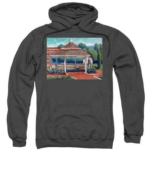 Rose Garden Gazebo Sweatshirt