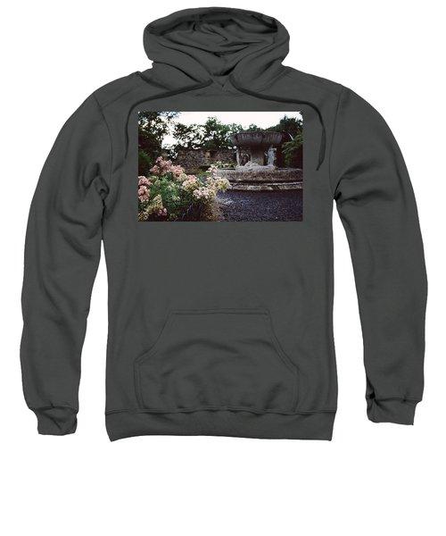 Flowers And A Fountain Sweatshirt