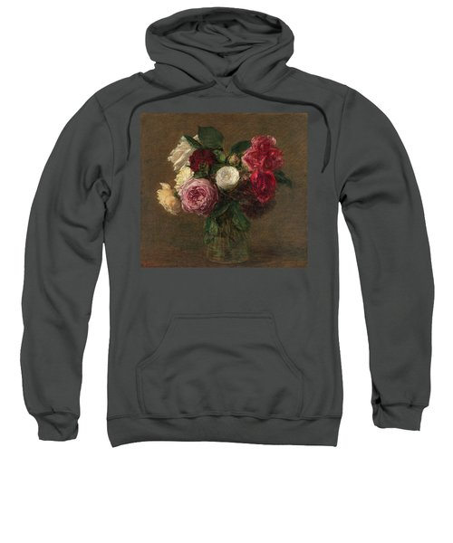 Roses In Vase Sweatshirt