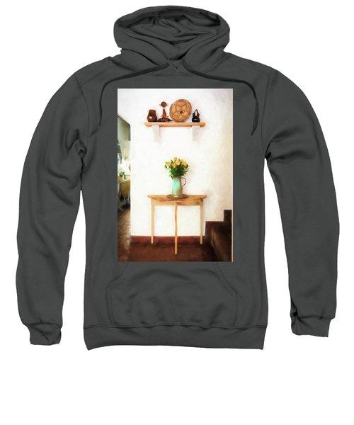 Rose's On Table Sweatshirt