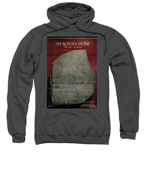 Rosetta Stone Replica Sweatshirt