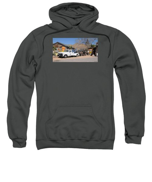 Route 66 Old Shell Service Station Sweatshirt