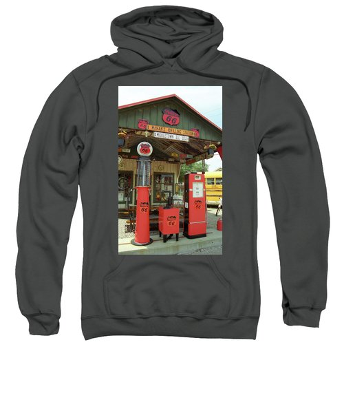 Route 66 - Shea's Gas Station Sweatshirt
