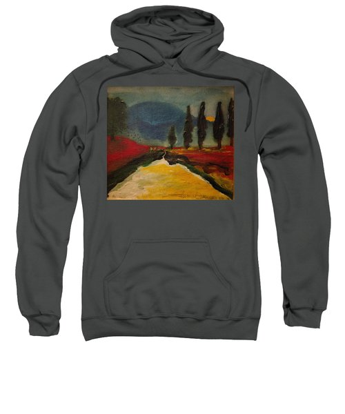 Row Of Cypress Sweatshirt