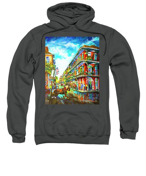 Royal Carriage - New Orleans French Quarter Sweatshirt
