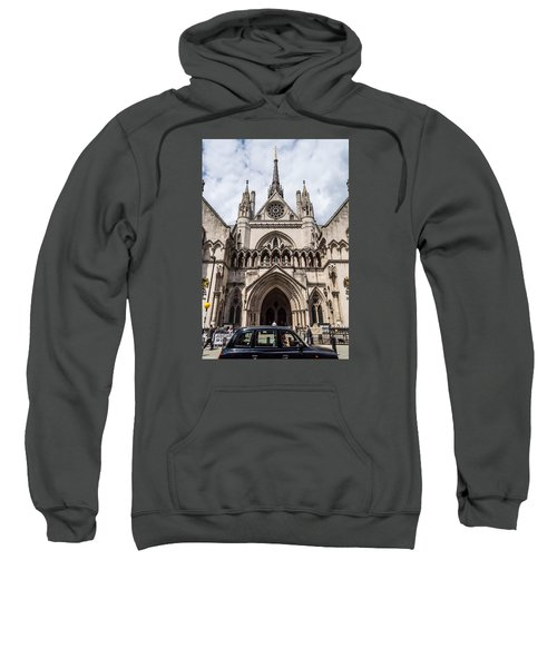 Royal Courts Of Justice In London Sweatshirt
