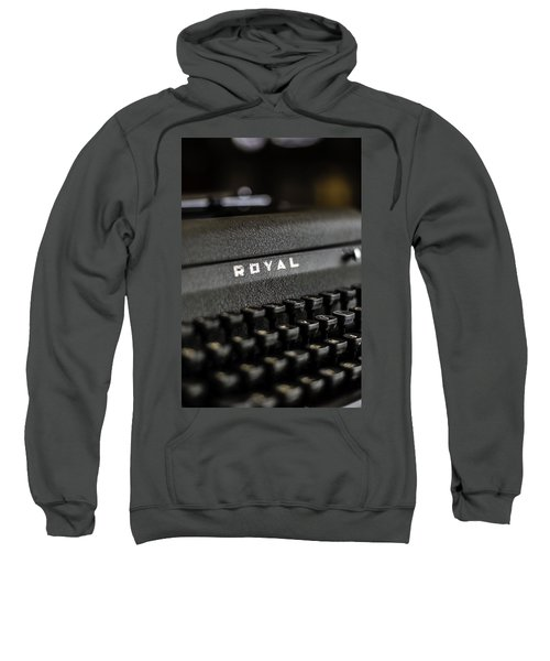 Royal Typewriter #19 Sweatshirt