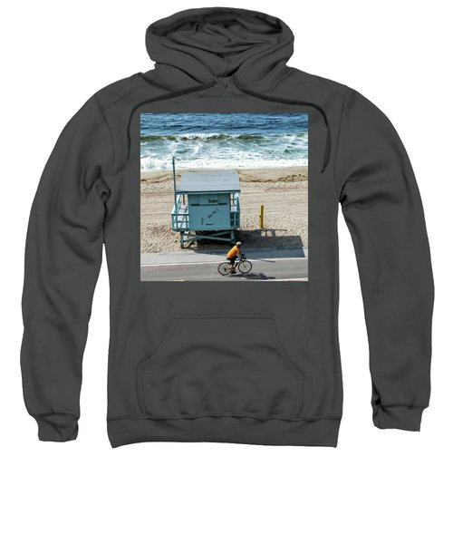 Sweatshirt featuring the photograph Ruby by Eric Lake