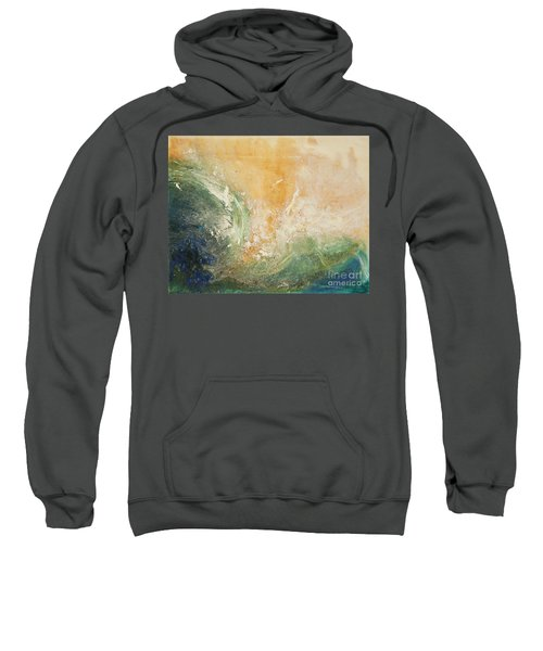 Rugged Coast Aerial View Sweatshirt