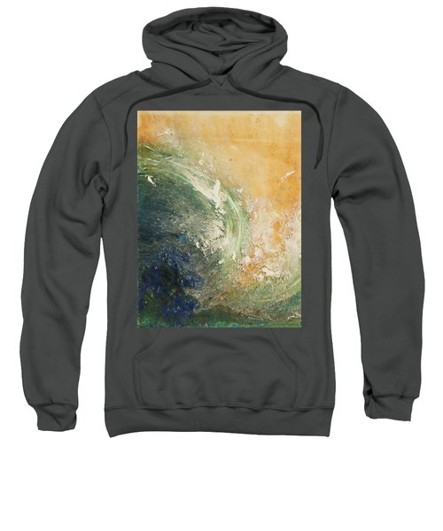 Rugged Coast Aerial View Sweatshirt