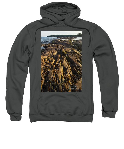Rugged Killarney Shoreline-4441 Sweatshirt