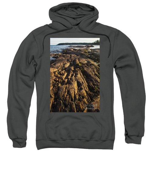 Rugged Killarney Shoreline-4441 Sweatshirt