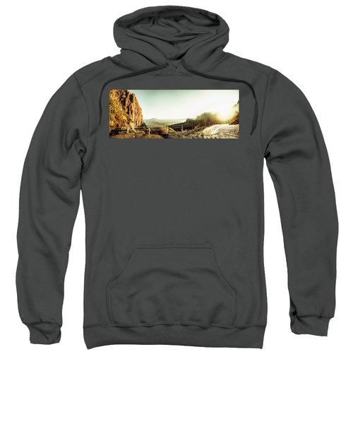 Rugged Mountain Trail Sweatshirt