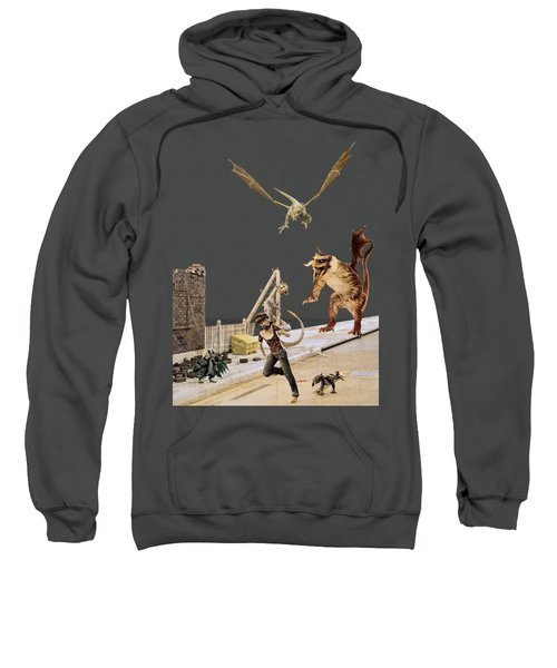 Running From My Problems Sweatshirt by Methune Hively