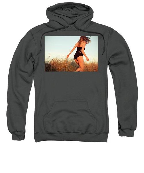 Running Unsharp In The Golden Hour Sweatshirt
