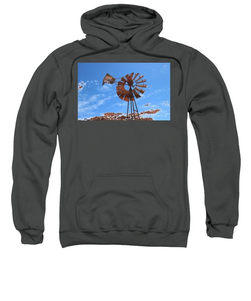 Sweatshirt featuring the photograph Rust Age by Stephen Mitchell