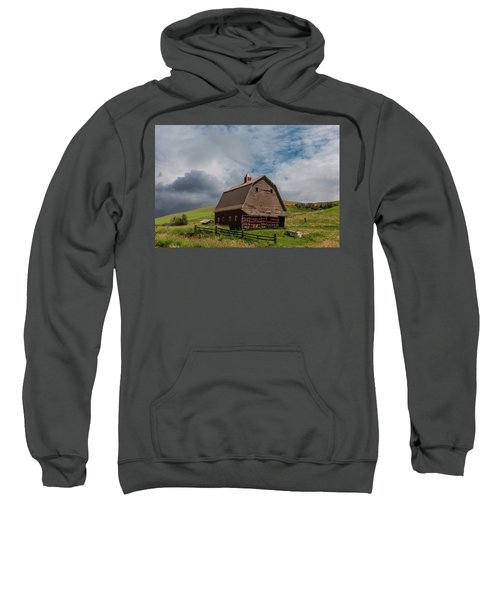 Rustic Barn Palouse Washington Sweatshirt