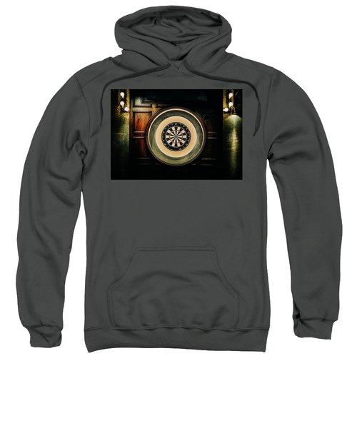 Rustic British Dartboard Sweatshirt