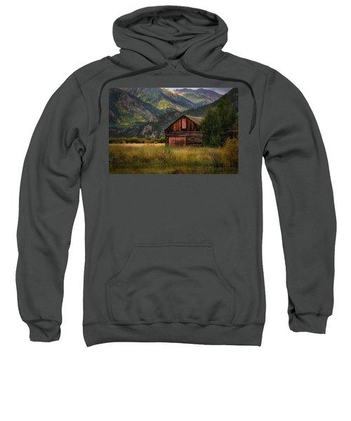 Rustic Colorado Barn Sweatshirt