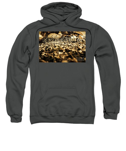 Rustic Mountain Bikes Sweatshirt