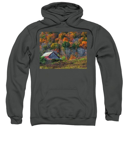 Rustic Out Building In Southern Ohio  Sweatshirt