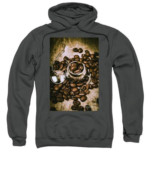 Rustic Teapot Art Sweatshirt