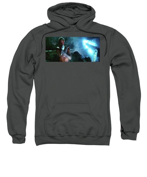 Rutger Hauer Number 2 Blade Runner Publicity Photo 1982 Color Added 2016 Sweatshirt