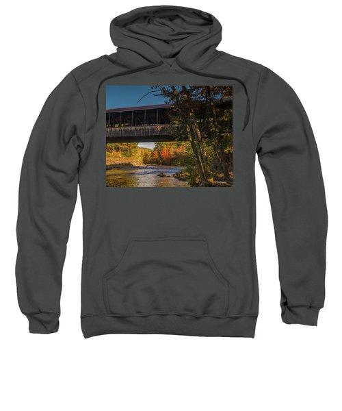 Saco River Covered Bridge Sweatshirt
