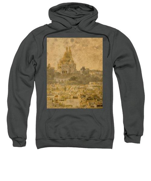 Paris, France - Sacre-coeur Oldplate Sweatshirt