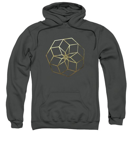 Sacred Geometry - Philosopher's Stone No. 3 Sweatshirt