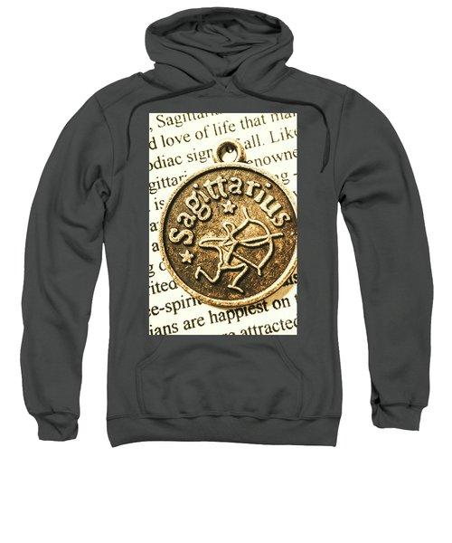 Sagittarius Astrology Design Sweatshirt