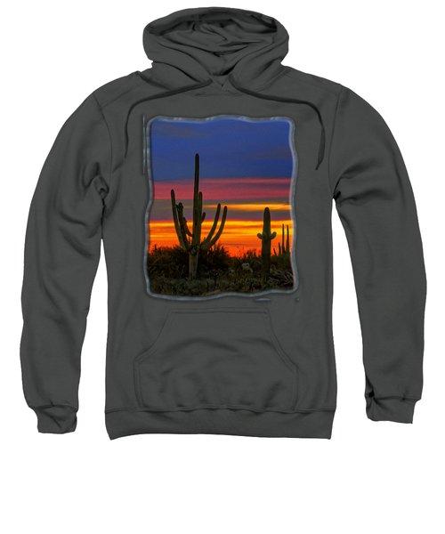 Saguaro Sunset V31 Sweatshirt