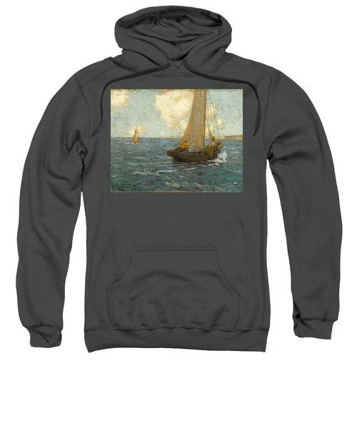 Sailboats On Calm Seas Sweatshirt
