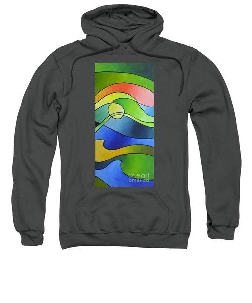 Sailing Away, Canvas Three Sweatshirt