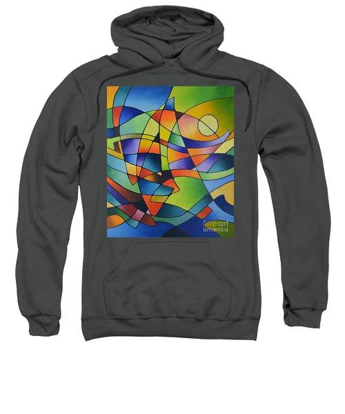 Sailing Away, Canvas Two Sweatshirt