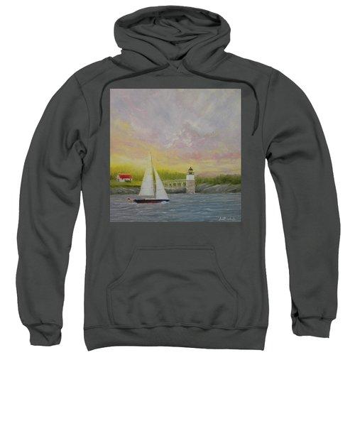 Sailing By Ram Island Sweatshirt