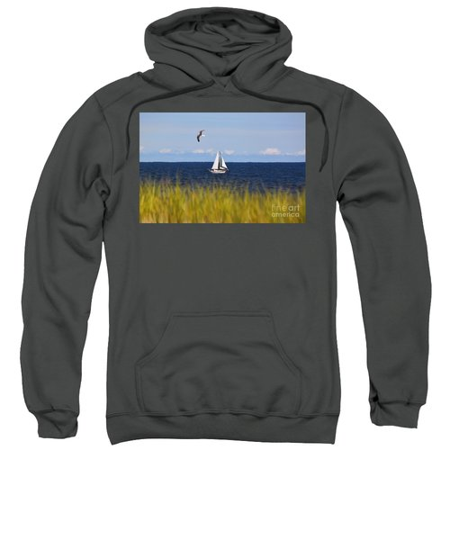Sailing On Long Beach Island Sweatshirt