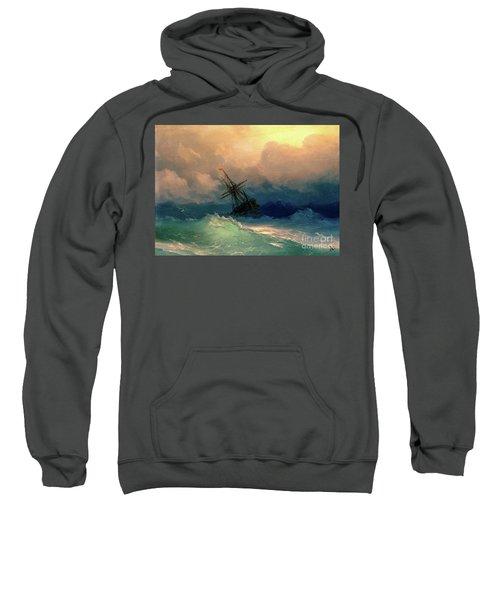 Sailing Ships In The Harbor Sweatshirt