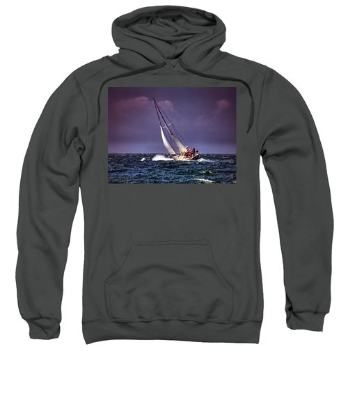Sailing To Nantucket 001 Sweatshirt