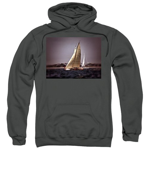 Sailing To Nantucket 005 Sweatshirt