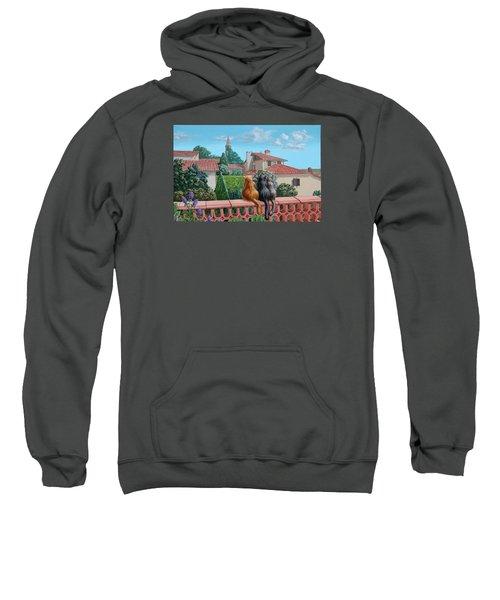 Saint-frajou. August. Sweatshirt