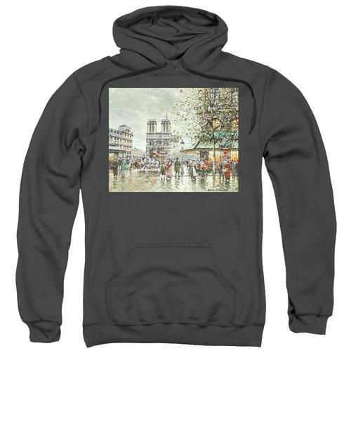 Saint Michel Square, Notre Dame Sweatshirt