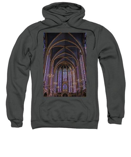 Sainte Chapelle Stained Glass Paris Sweatshirt