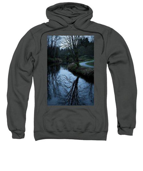 Sammamish River At Dusk Sweatshirt