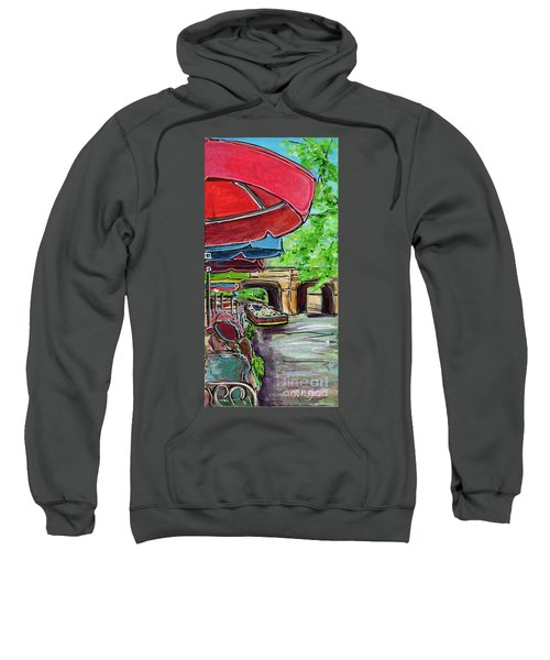 San Antonio River Walk Cafe Sweatshirt