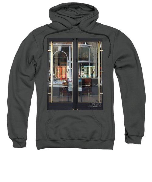 San Francisco Gumps Department Store Doors - Full Cut - 5d17094 Sweatshirt